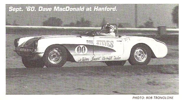 Jack Graham in Ferrari 250 was overall race winner and dave MacDonald in corvette was b-production winner