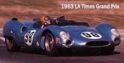 Racer Dave MacDonald in King Cobra at Riverside