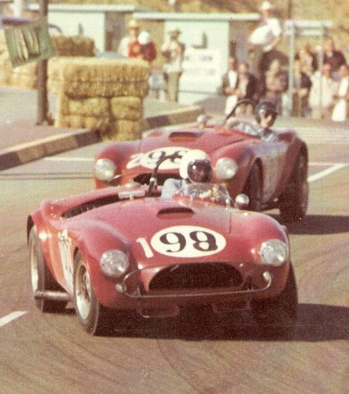 Dave MacDonald wins in Shelby Cobra at Dodger Stadium 1963