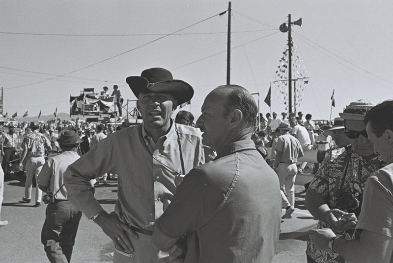 carroll shelby before the 1963 la times grand prix