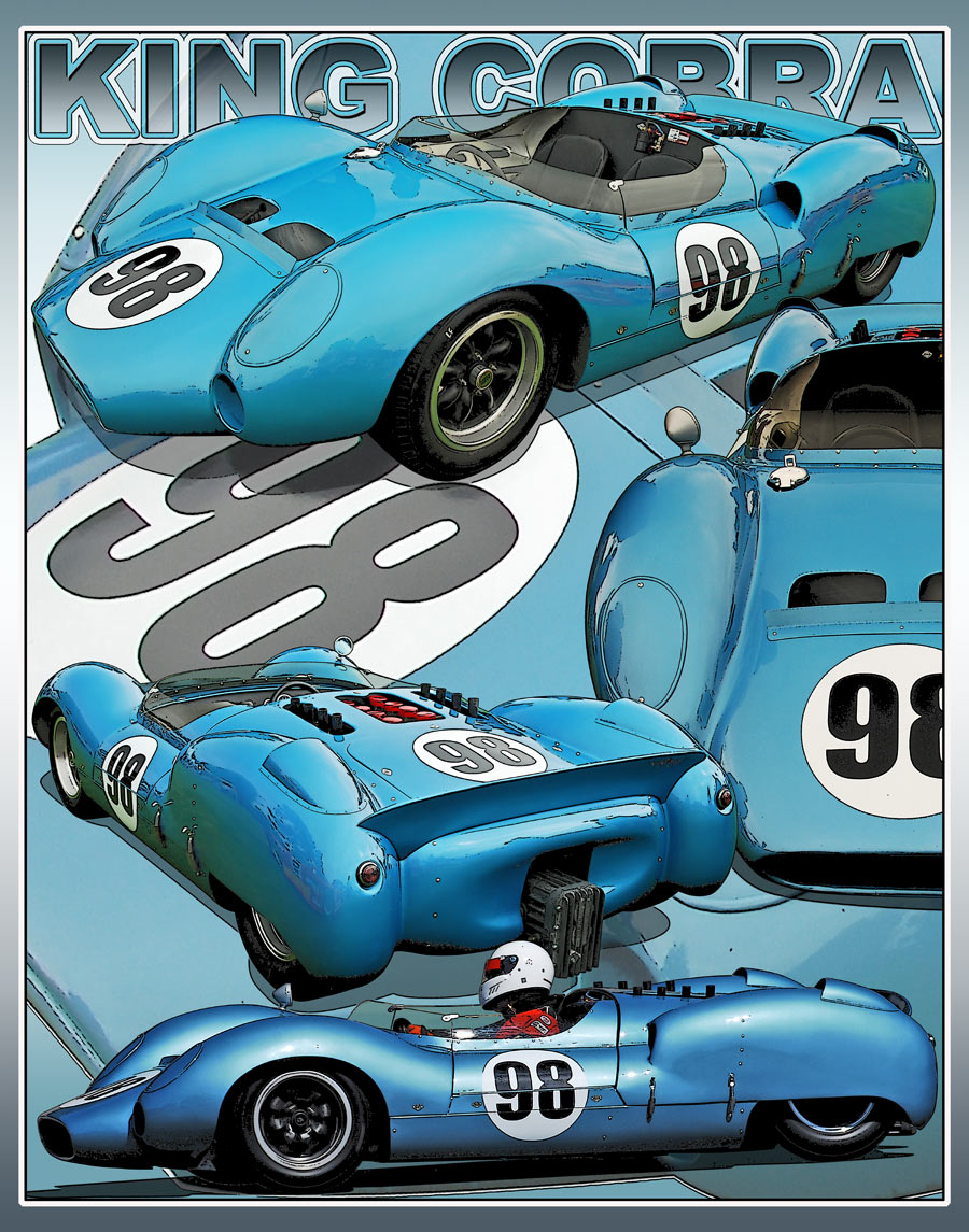 Dave MacDonald and the Shelby King Cobra