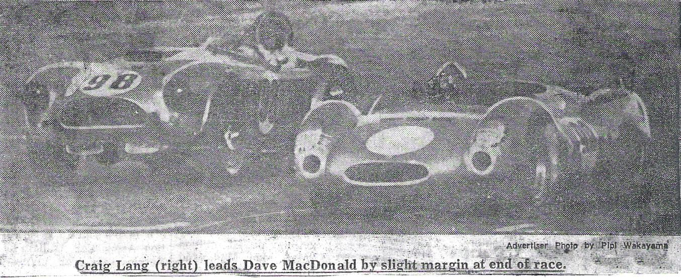 Dave MacDonald in Cobra CSX2136 1963 Hawaiian Grand Prix