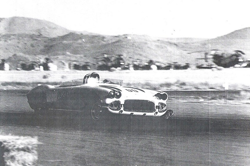 Dave MacDonald finishes 2nd at Reno race in 1962